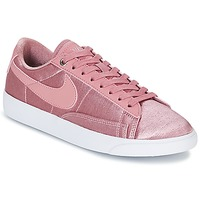 Skor Dam Sneakers Nike BLAZER LOW SE W Rosa