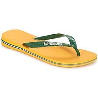 Skor Flip-flops Havaianas BRAZIL LOGO Gul