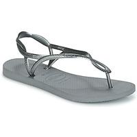 Skor Dam Flip-flops Havaianas LUNA Silver