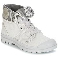Skor Dam Boots Palladium US BAGGY Grå / Metallfärg