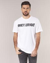 textil Herr T-shirts Diesel T JUST SV Vit
