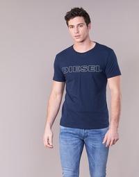 textil Herr T-shirts Diesel JAKE Marin