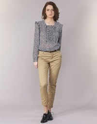 textil Dam Chinos / Carrot jeans Maison Scotch BEIBEO Beige