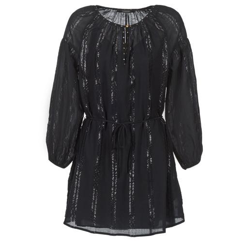 textil Dam Korta klänningar Scotch & Soda DRAGUO Svart