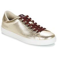 Skor Dam Sneakers Victoria DEPORTIVO METALIZADO Guldfärgad