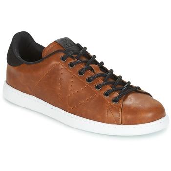 Skor Herr Sneakers Victoria DEPORTIVO PU CONTRASTE Brun