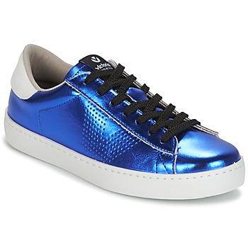 Skor Dam Sneakers Victoria DEPORTIVO METALIZADO Blå