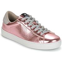 Skor Dam Sneakers Victoria DEPORTIVO METALIZADO Rosa
