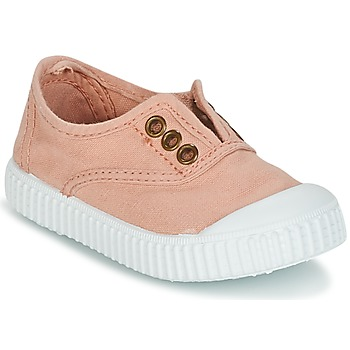 Skor Flickor Sneakers Victoria INGLESA LONA TINTADA Rosa