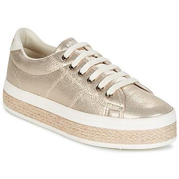 Skor Dam Sneakers No Name MALIBU GLOW Guldfärgad