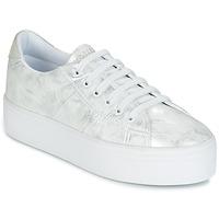 Skor Dam Sneakers No Name PLATO SNEAKER Silver