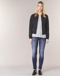 textil Dam Skinny Jeans G-Star Raw D-STAQ 5 PKT MID SKINNY Restored