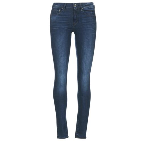 textil Dam Skinny Jeans G-Star Raw MIDGE ZIP MID SKINNY Neutro