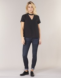textil Dam Skinny Jeans G-Star Raw 5622 MID SKINNY Blå