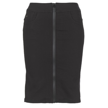 textil Dam kjolar G-Star Raw LYNN LUNAR HIGH SLIM SKIRT Svart
