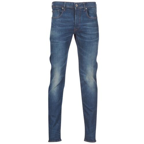 textil Herr Stuprörsjeans G-Star Raw 3301 SLIM Blå