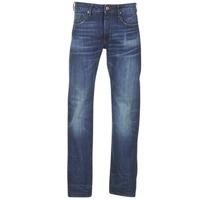 textil Herr Raka byxor G-Star Raw 3301 STRAIGHT Blå