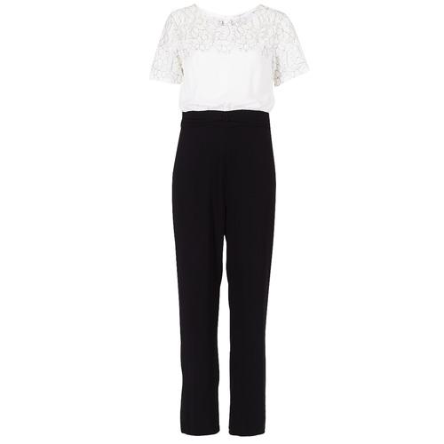 textil Dam Uniform Molly Bracken YURITOE Svart / Vit