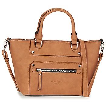 Väskor Dam Handväskor med kort rem Fuchsia VICTOIRE 5 Cognac