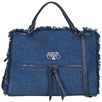 Väskor Dam Handväskor med kort rem Le Temps des Cerises EMILY 2 Blå