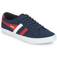 Skor Herr Sneakers Gola VARSITY Marin / Vit / Röd