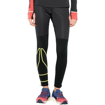 textil Dam Leggings Reebok Sport Osr Wntr Tight Svarta