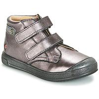 Skor Flickor Höga sneakers GBB RACHEL Violett / Metallfärg