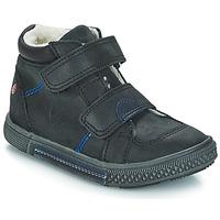 Skor Pojk Boots GBB ROBERT Svart