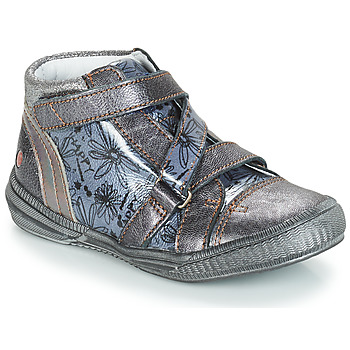 Skor Flickor Boots GBB RADEGONDE Grå / Blå