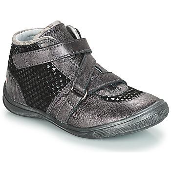 Skor Flickor Boots GBB RIQUETTE Grå / Svart
