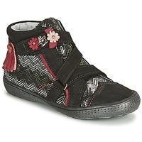 Skor Flick Boots Catimini ROQUETTE Ctv / Svart - silver