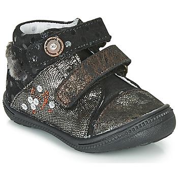 Skor Boots Catimini ROSSIGNOL Svart-koppar