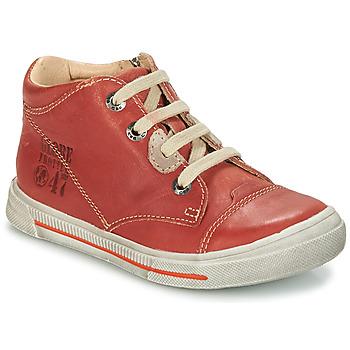 Skor Pojk Boots GBB SYLVAIN Röd