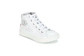 Skor Flick Boots GBB SERAPHINE Vit / silver