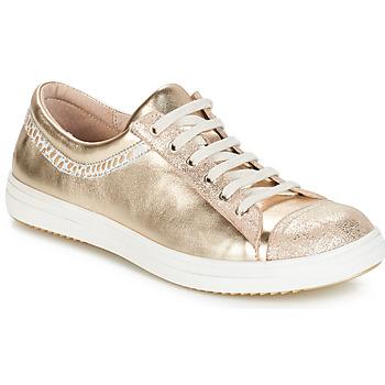 Skor Flick Boots GBB GINA Beige / guld