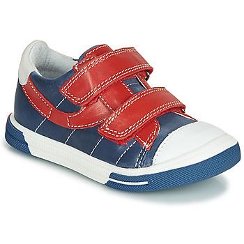 Skor Pojkar Sneakers Catimini SORBIER Blå / Röd
