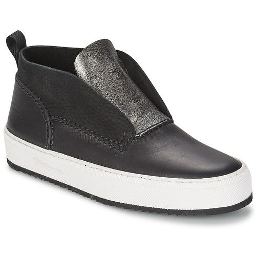 Skor Dam Höga sneakers Barleycorn CLASSIC Svart