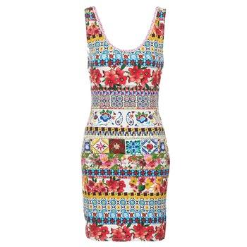 textil Dam Korta klänningar Desigual OCONDE Flerfärgad