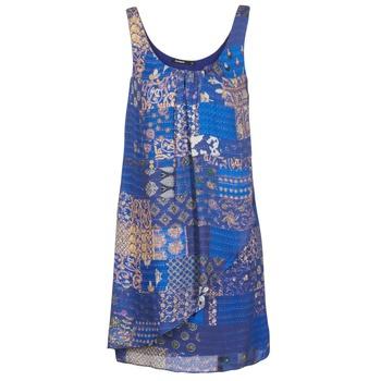 textil Dam Korta klänningar Desigual OFFOELA Blå
