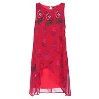 textil Dam Korta klänningar Desigual DORIJE Röd