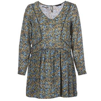 textil Dam Korta klänningar Kaporal VERA Beige / Flerfärgad