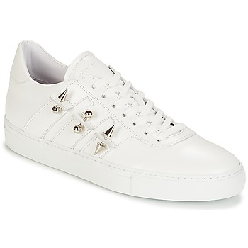 Skor Herr Sneakers John Galliano 4722 Vit