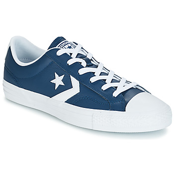 Skor Sneakers Converse Star Player Ox Leather Essentials Marin