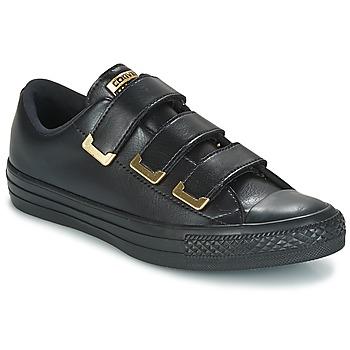 Skor Dam Sneakers Converse Chuck Taylor All Star 3V Ox SL + Hardware Svart / Guldfärgad