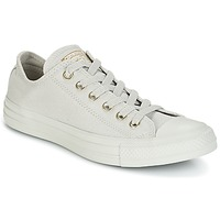 Skor Dam Sneakers Converse Chuck Taylor All Star Ox Mono Glam Canvas Color Grå