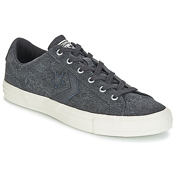 Skor Herr Sneakers Converse Star Player Ox Fashion Textile Grå