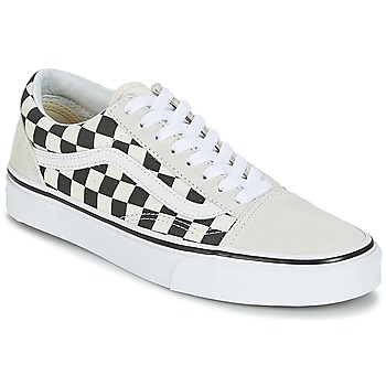 Skor Sneakers Vans OLD SKOOL Vit / Svart
