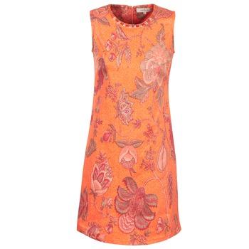 textil Dam Korta klänningar Derhy ANTILLAIGAN Orange
