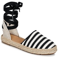 Skor Dam Espadriller Betty London INANO Svart / Vit