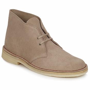 Skor Herr Boots Clarks DESERT BOOT Sandfärgad